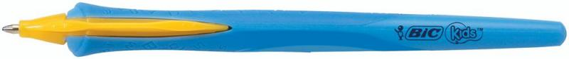 BIC Medium Tip Kids Clic Retractable Ballpoint Pen - Blue