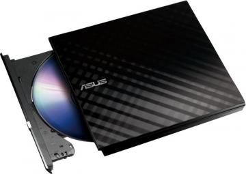 ASUS External Slimline SATA DVD Writer - Black