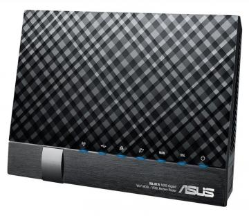 ASUS Wireless-N300 Gigabit ADSL/VDSL Modem Router, 300 MB/s