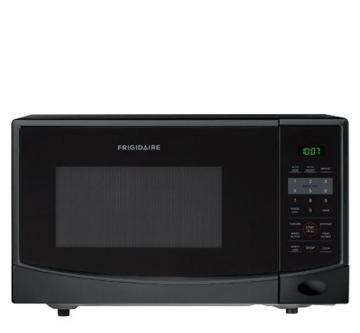 Frigidaire 0.9 cu. ft. Countertop Microwave in Black