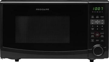 Frigidaire 1.1 cu. ft. Countertop Microwave in Black