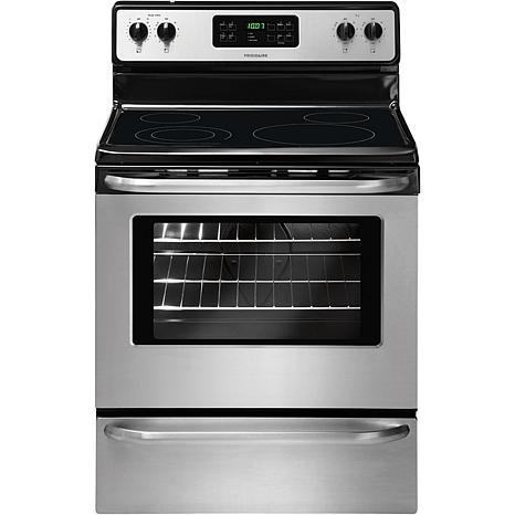 "Frigidaire 30"" Freestanding Electric Range – Stainless Steel"
