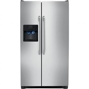 Frigidaire 23 Cu. Ft. Standard Depth Side-by-Side Refrigerator/Freezer - Stainless Steel