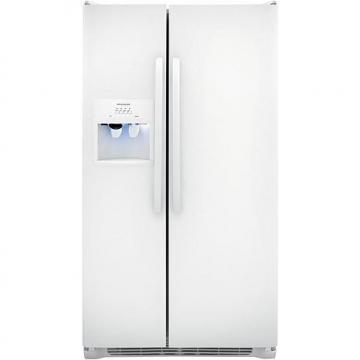 Frigidaire 26 Cu. Ft. Side-by-Side Refrigerator - Pearl White