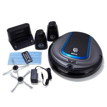 Hoover Quest 800 Robot Vacuum with 2 Invisible Walls