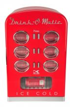Kalorik Retro Mini Cooler Fridge in Red