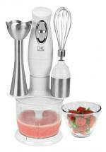 Kalorik White Combo Mixer Including Mixing Cup, Chopper and Whisk