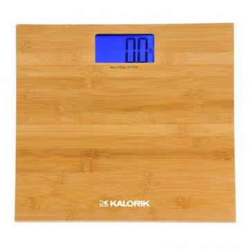 Kalorik Electronic Bamboo Bathroom scale