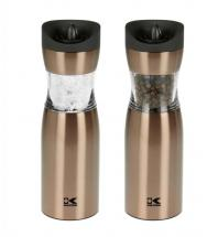 Kalorik Gold Gravity Salt and Pepper Grinder Set