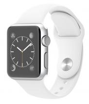 Apple Watch Sport 38mm Silver Aluminium Case with White Sport Band