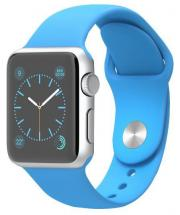 Apple Watch Sport 38mm Silver Aluminium Case with Blue Sport Band
