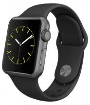 Apple Watch Series 2 42mm Space Grey Case with Black Sport Strap