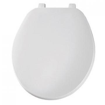 Bemis Mayfair Round Plastic Toilet Seat, White