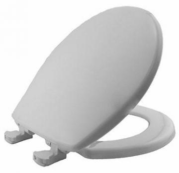 Bemis Mayfair Round Toilet Seat, Plastic, White