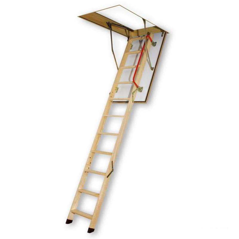 Fakro Attic Ladder (Wooden Fire Rated) LWF 25x47 300 lbs 8 ft 11 in