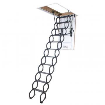 Fakro Attic Ladder (Scissor Insulated) LST 22 1/2 x 54 300lbs 9ft6in