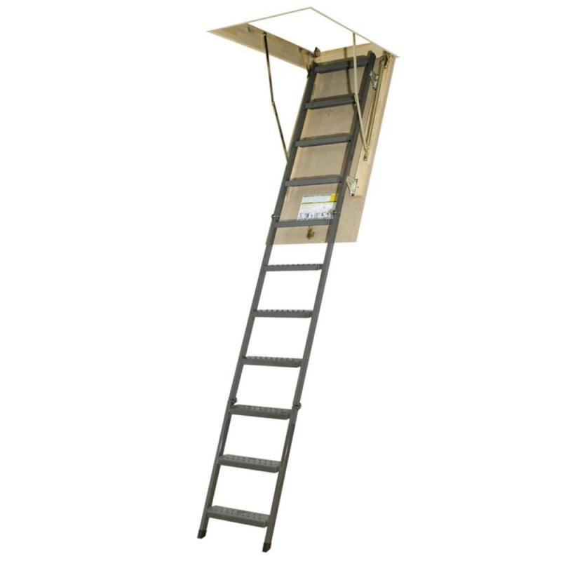 Fakro Attic Ladder (Metal Basic) OWM 22 1/2 x 54 300lbs 10ft 1in