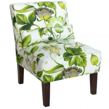 Skyline Armless Chair In Grandiflora Jardin