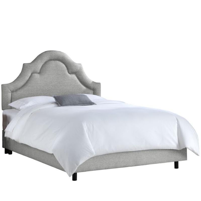 Skyline Twin Arched Border Bed In Groupie Pewter