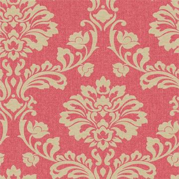 Graham & Brown Aurora Red/Gold Wallpaper