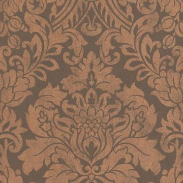 Graham & Brown Gloriana Copper/Brown Wallpaper
