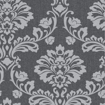 Graham & Brown Aurora Black/Grey Wallpaper