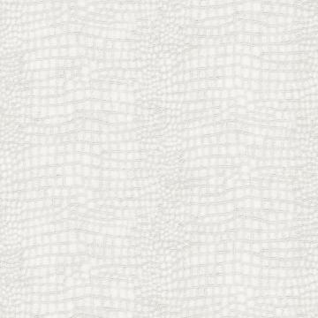 Graham & Brown Crocodile WhiteWallpaper
