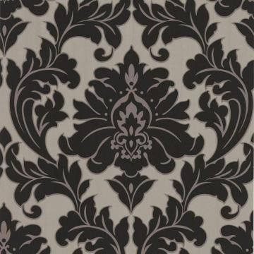 Graham & Brown Majestic Black/Gold Wallpaper