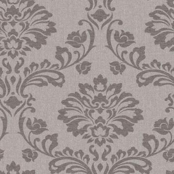 Graham & Brown Aurora Chocolate Wallpaper