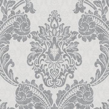 Graham & Brown Regent Charcoal/Grey Wallpaper