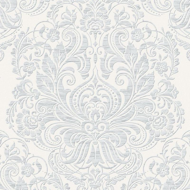 Graham & Brown Melody Grey/White Wallpaper