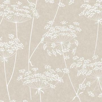 Graham & Brown Aura Taupe/Cream Wallpaper