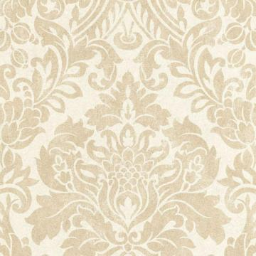 Graham & Brown Gloriana Oyster/Gold Wallpaper