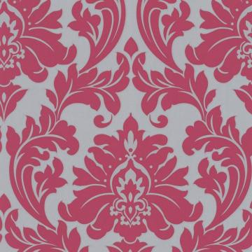 Graham & Brown Majestic Pink/Silver Wallpaper