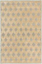 "eCarpet Gallery Silko Legacy Beige Light Gray Rug - 3'11"" x 5'3"""
