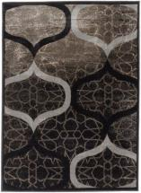 "eCarpet Gallery Frost Gray, Khaki Power Loomed Rug 3'11"" x 5'3"""