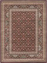 "eCarpet Gallery Medallion Style Dark Red Machine Made Rug 5'6"" x 7'6"""