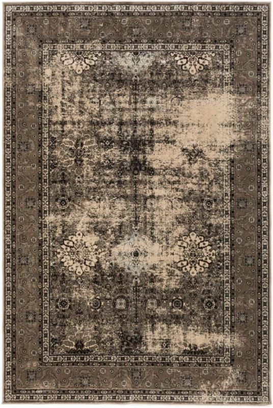 "eCarpet Gallery Frost Khaki Power Loomed Rug 7'10"" x 10'2"""