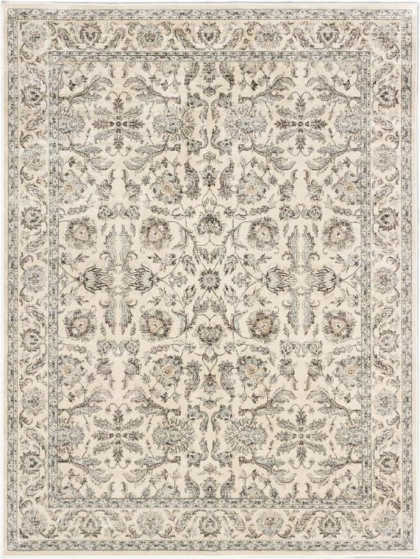 "eCarpet Gallery Prescilla Cream Machine Made Rug 7'10"" x 10'2"""