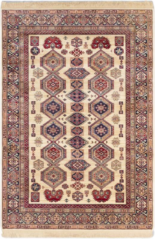 "eCarpet Gallery Shiravan Ivory Power Loomed Rug 5'1"" x 7'7"""