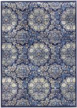 "eCarpet Gallery Rosalyn Dark Navy Machine Made Rug 3'11"" x 5'3"""