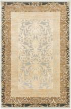 "eCarpet Gallery Silko Legacy Beige Light Gray Rug - 7'10"" x 11'2"""