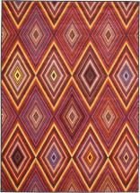 "eCarpet Gallery Chroma Red  Rug - 4'7"" x 6'3"""