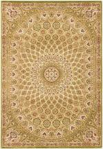 "eCarpet Gallery Persia Isfahan Light Green Rug - 7'10"" x 11'2"""