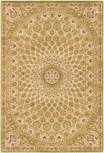 "eCarpet Gallery Persia Isfahan Light Green Rug - 5'3"" x 7'7"""