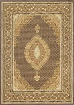"eCarpet Gallery Classic Mahee Dark Brown Rug - 4'7"" x 6'5"""