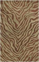 "eCarpet Gallery Trek Brown, Light Dull Spring Hand Tufted Rug 5'0"" x 8'0"""