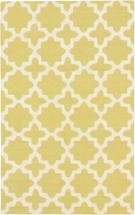 eCarpet Gallery Handmade Monaco Cream Light Green Rug - 5'x 8'0""