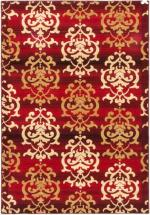 "eCarpet Gallery Crown Red Power Loomed Rug 6'7"" x 9'6"""