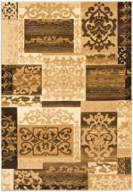 "eCarpet Gallery Crown Beige, Cream Power Loomed Rug 5'3"" x 7'7"""
